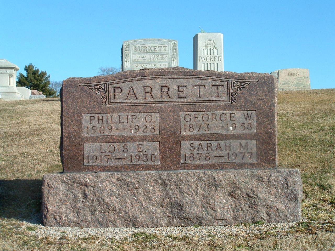 Philip C Parrett