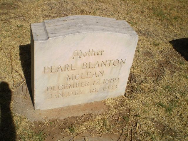 Emma Pearl Blanton