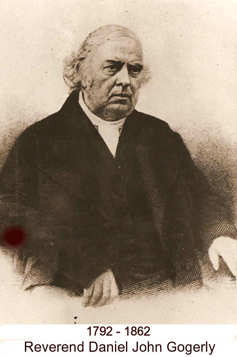 Daniel John 'Reverend' Gogerly