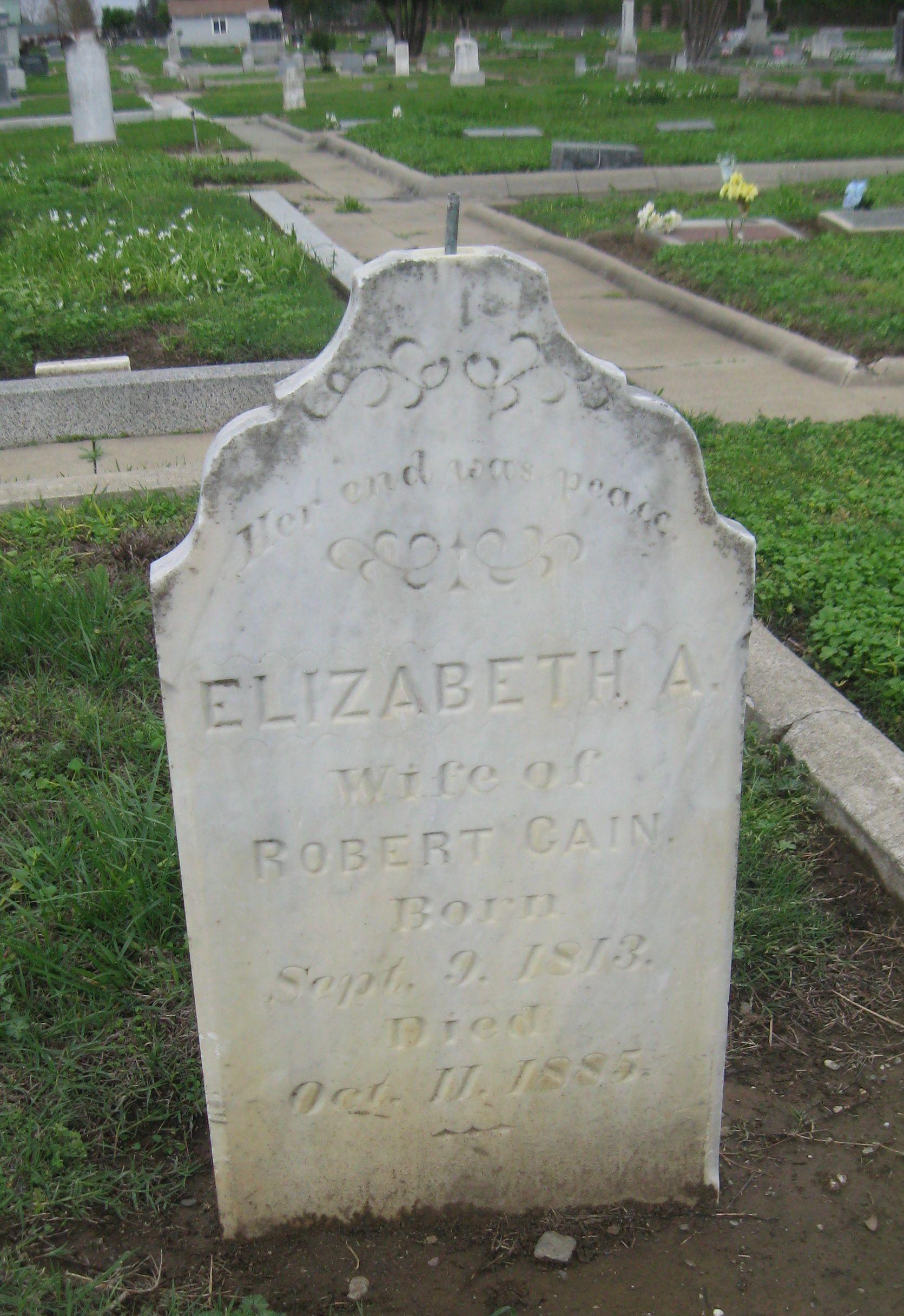 Elizabeth Ann Burnett