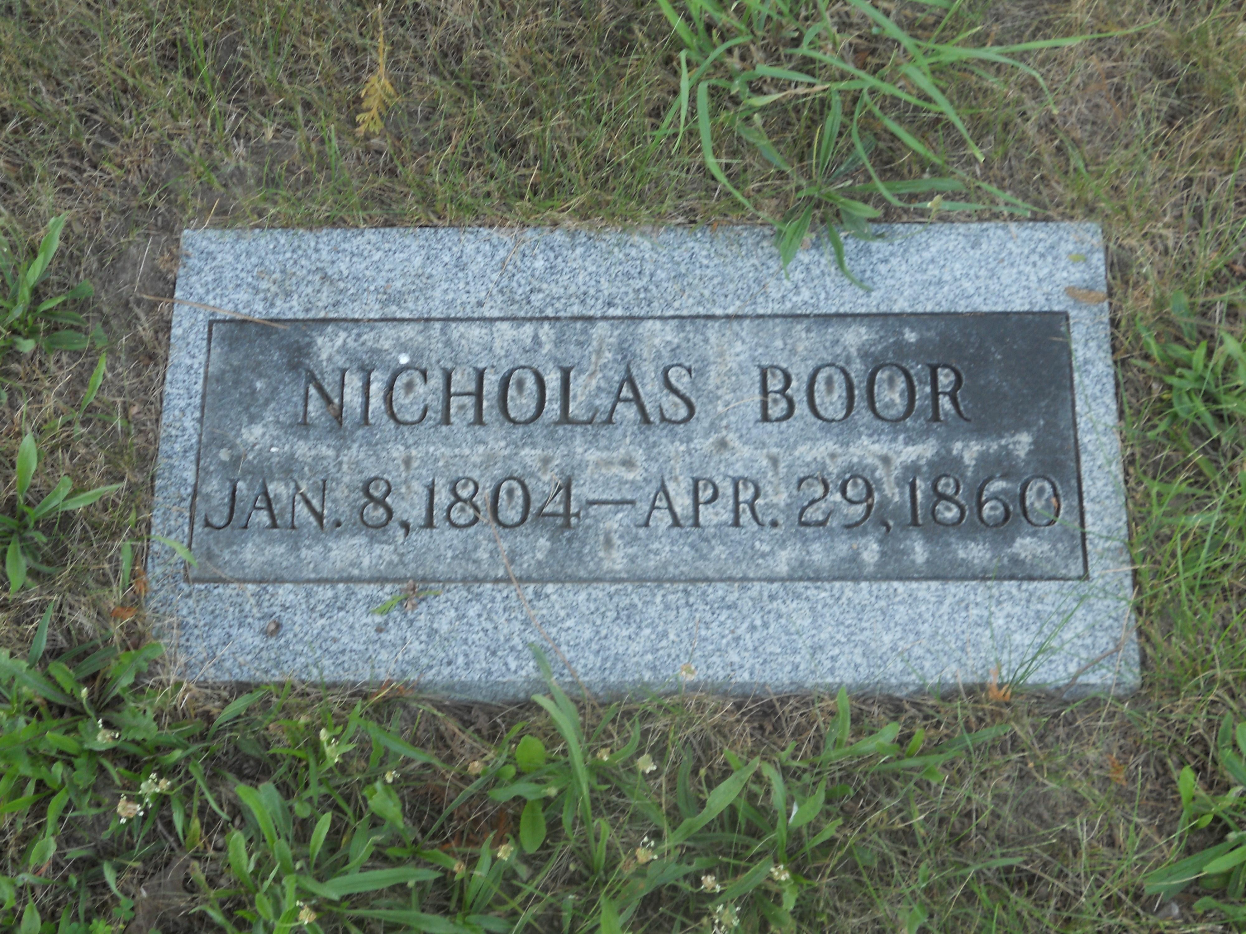 Nicholas Boor