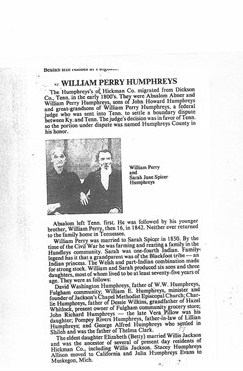 William Perry Humphreys
