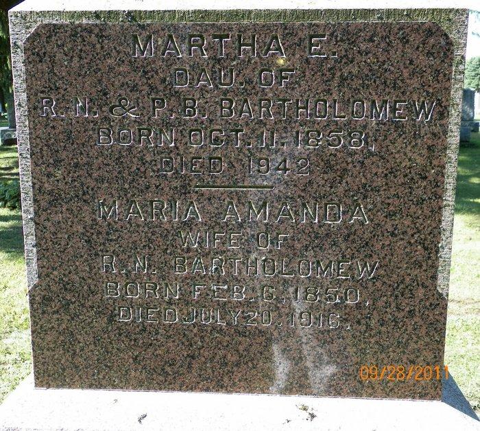 Martha Bartholomew