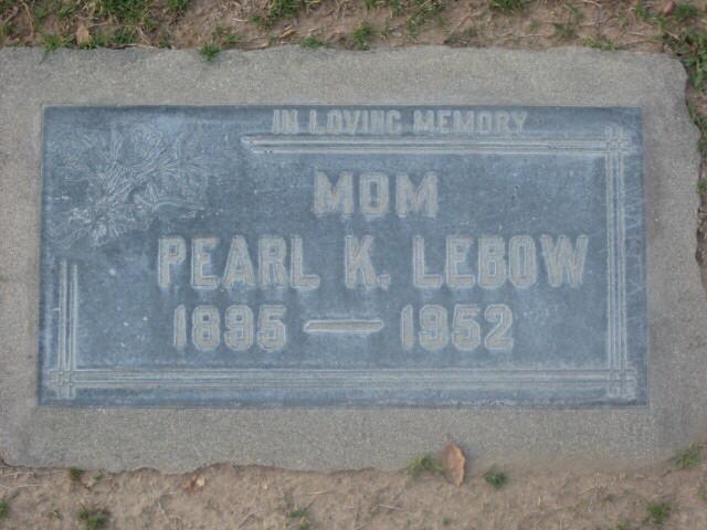 Pearl Katholeen Lebow