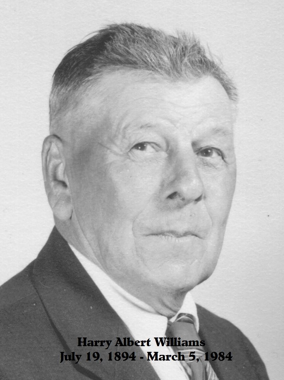 Harry A Williams