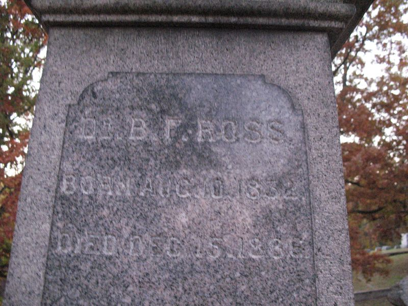 Benjamin Franklin Ross