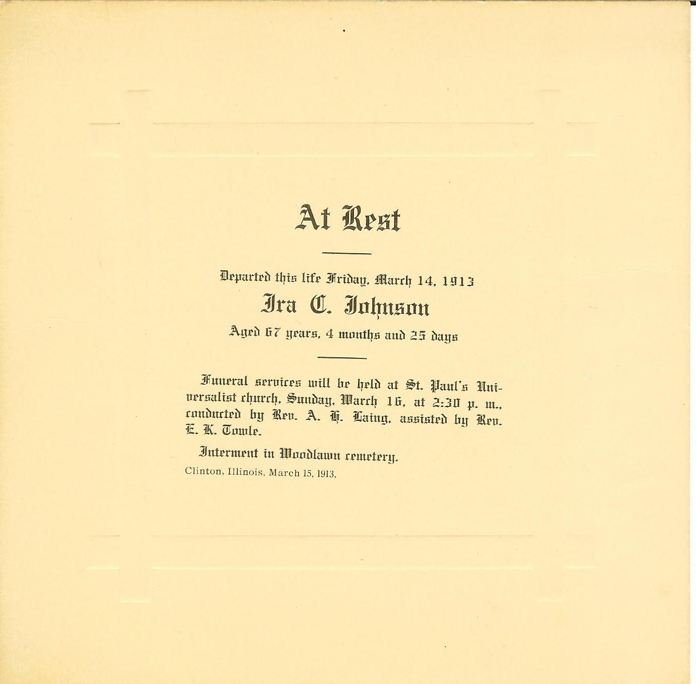 Ira C. Johnson
