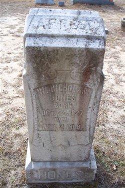 Washington Nicholas Jones