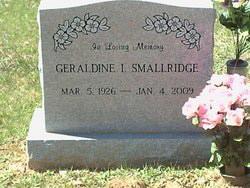 Geraldine I Smallridge