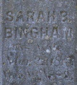 Sarah Bingham