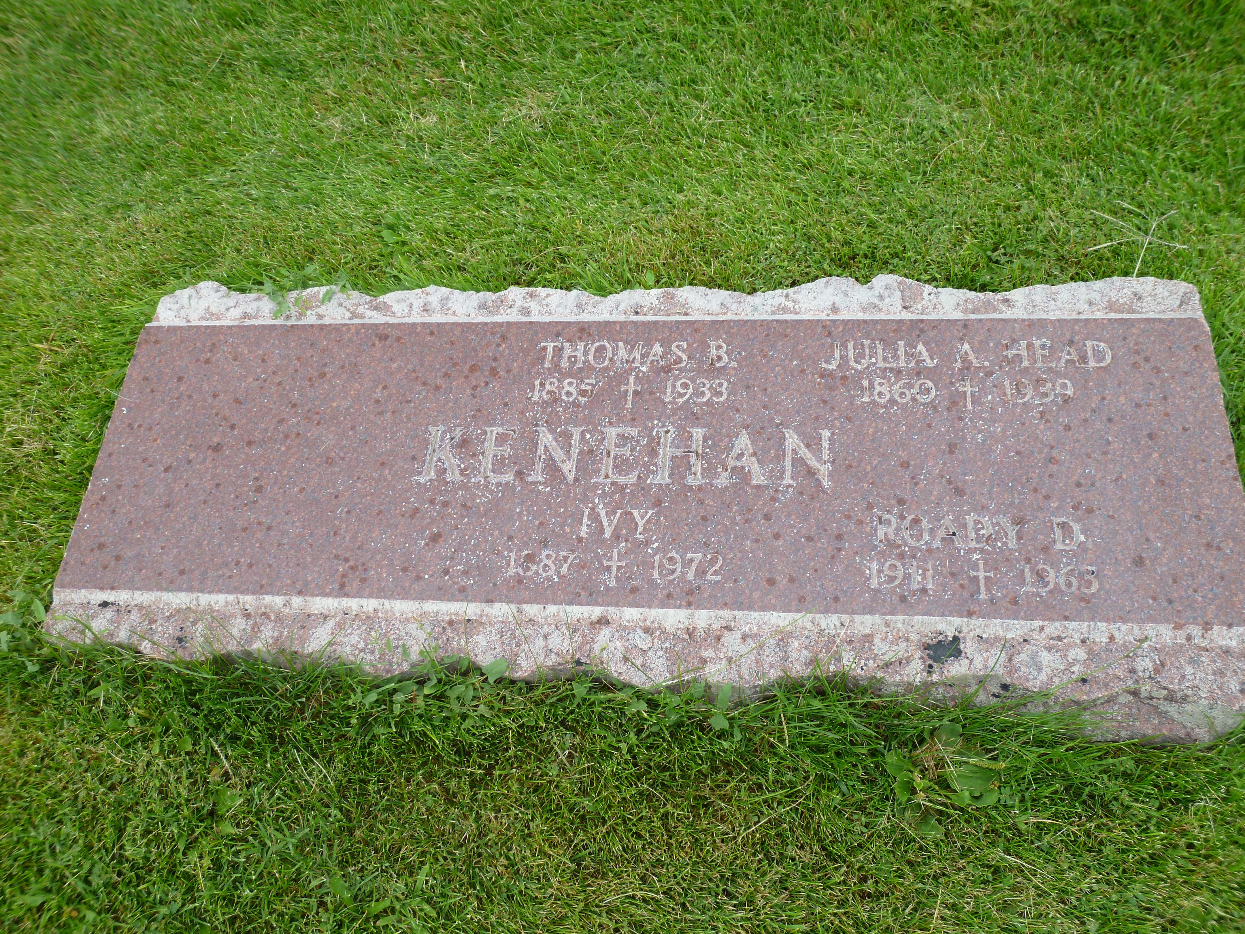 Thomas Bernard Kenehan