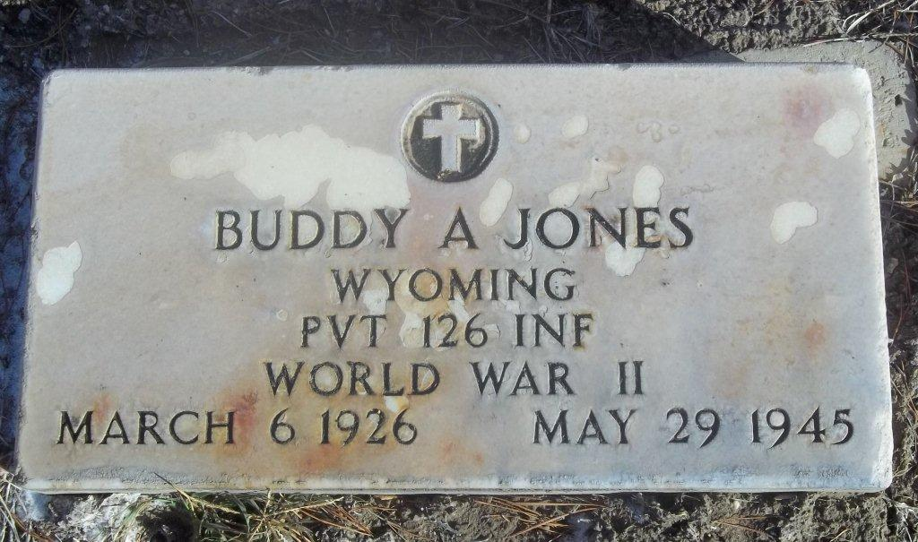 Buddy A Jones