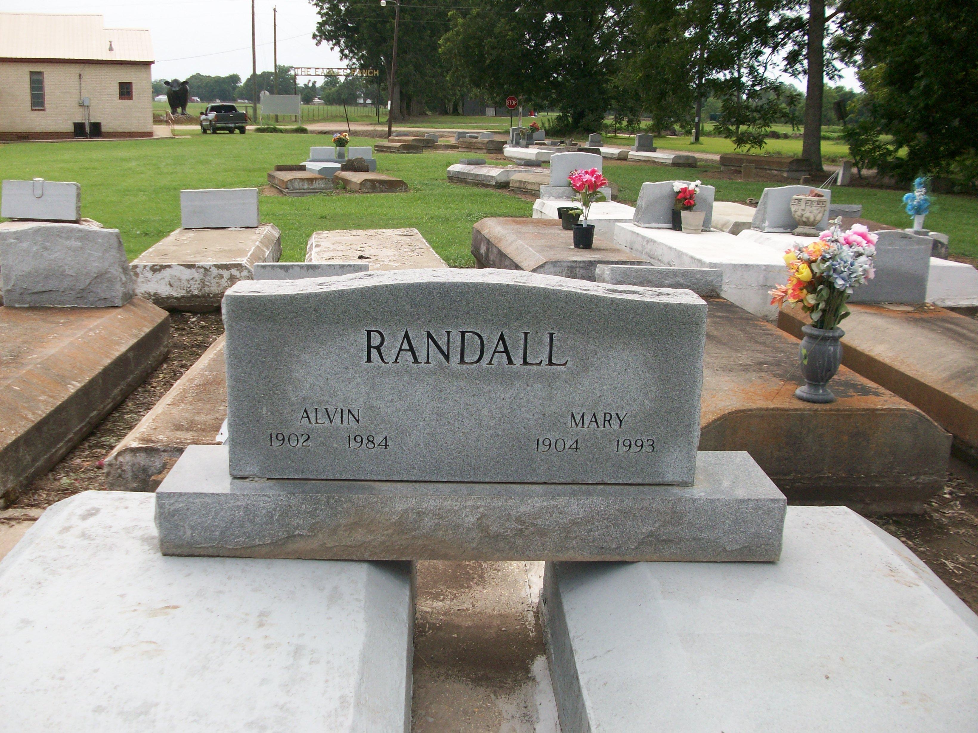 "Alvin ""Alvia"" Randall"