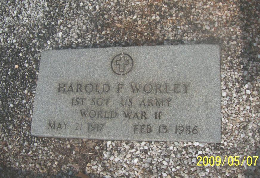 Harold Floyd Worley