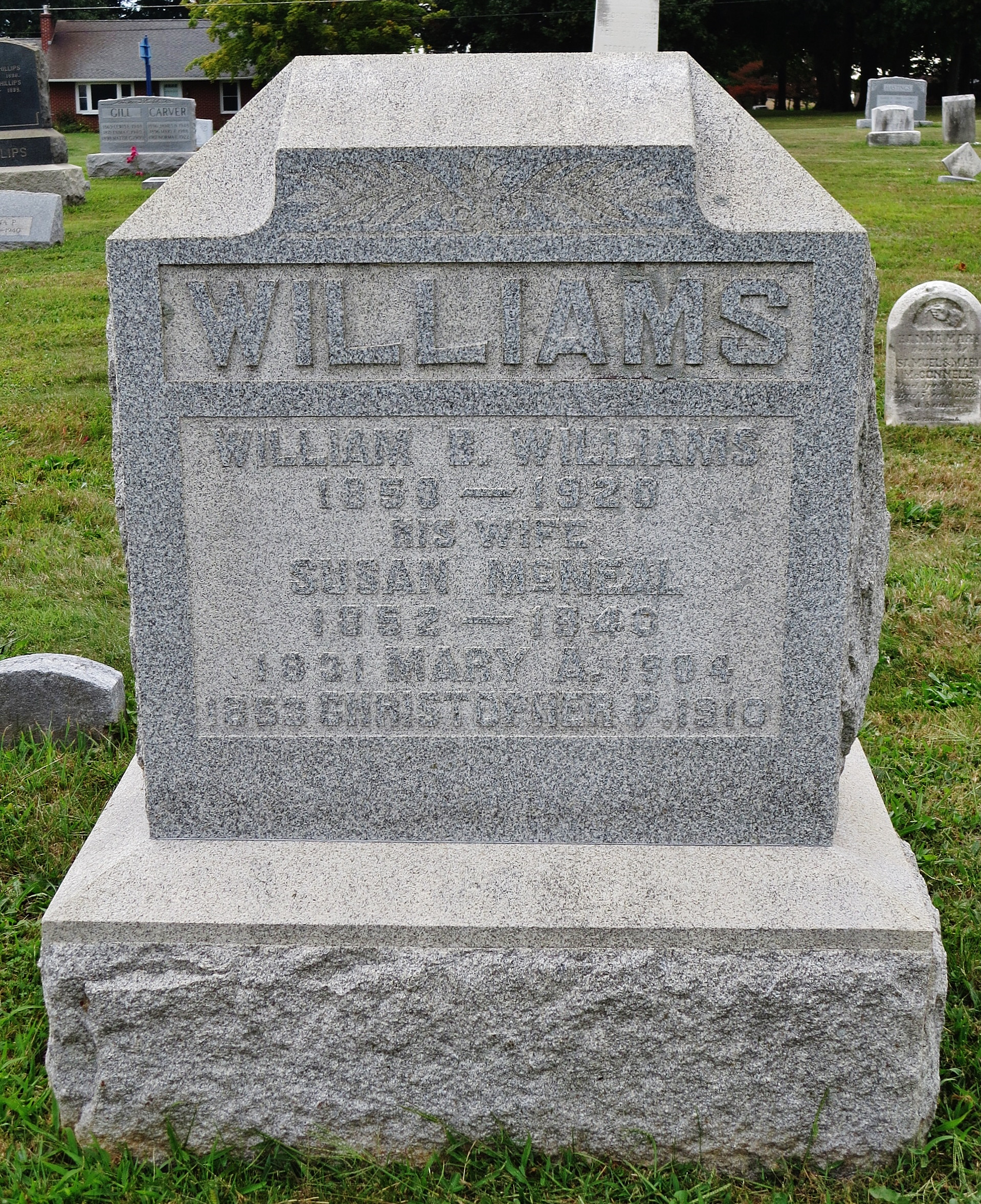 William B Williams