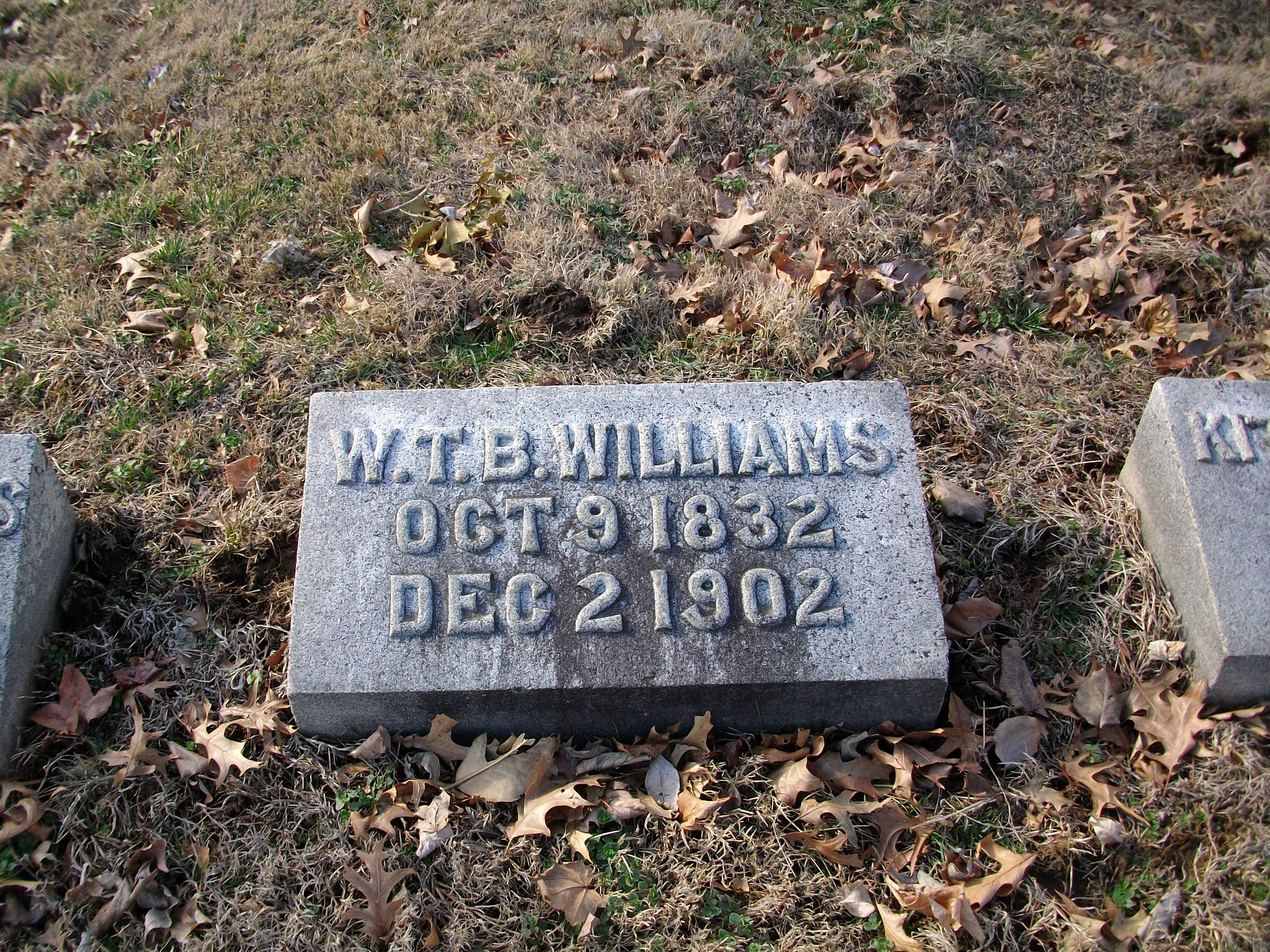 W Thomas B Williams
