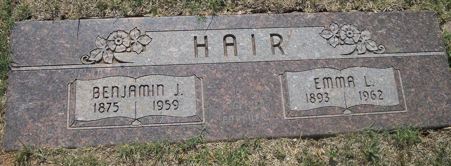 Benjamin Jacob Elijah Franklin Hair