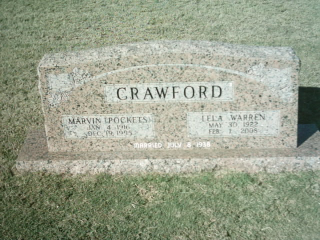 Marvin E Crawford