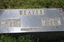 Benjamin Edward Weaver