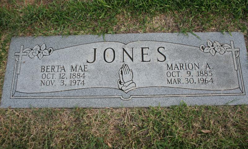 Berta Mae Carter ( Jones)