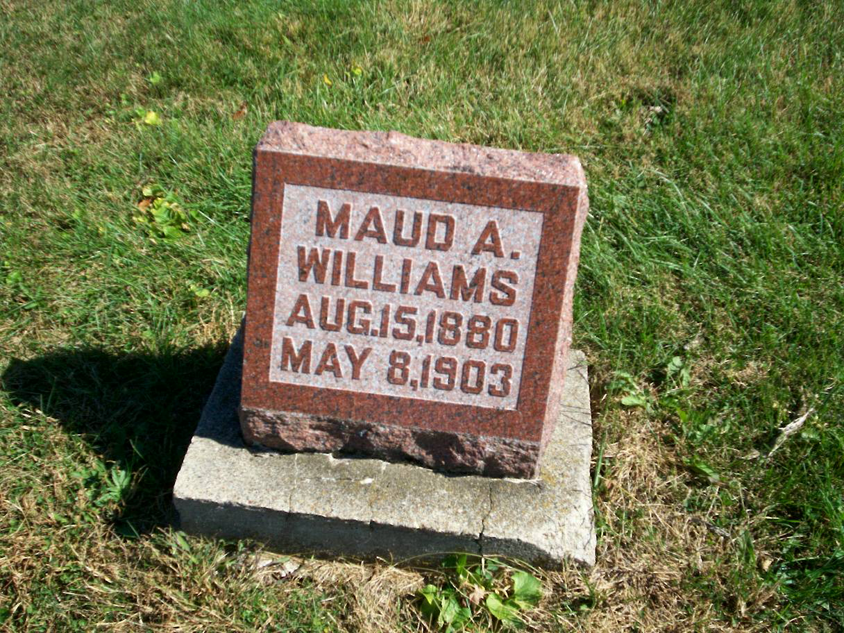 Maud A Williams