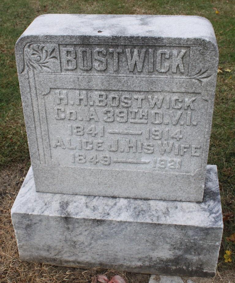 Alice June Sundys ( Bostwick)