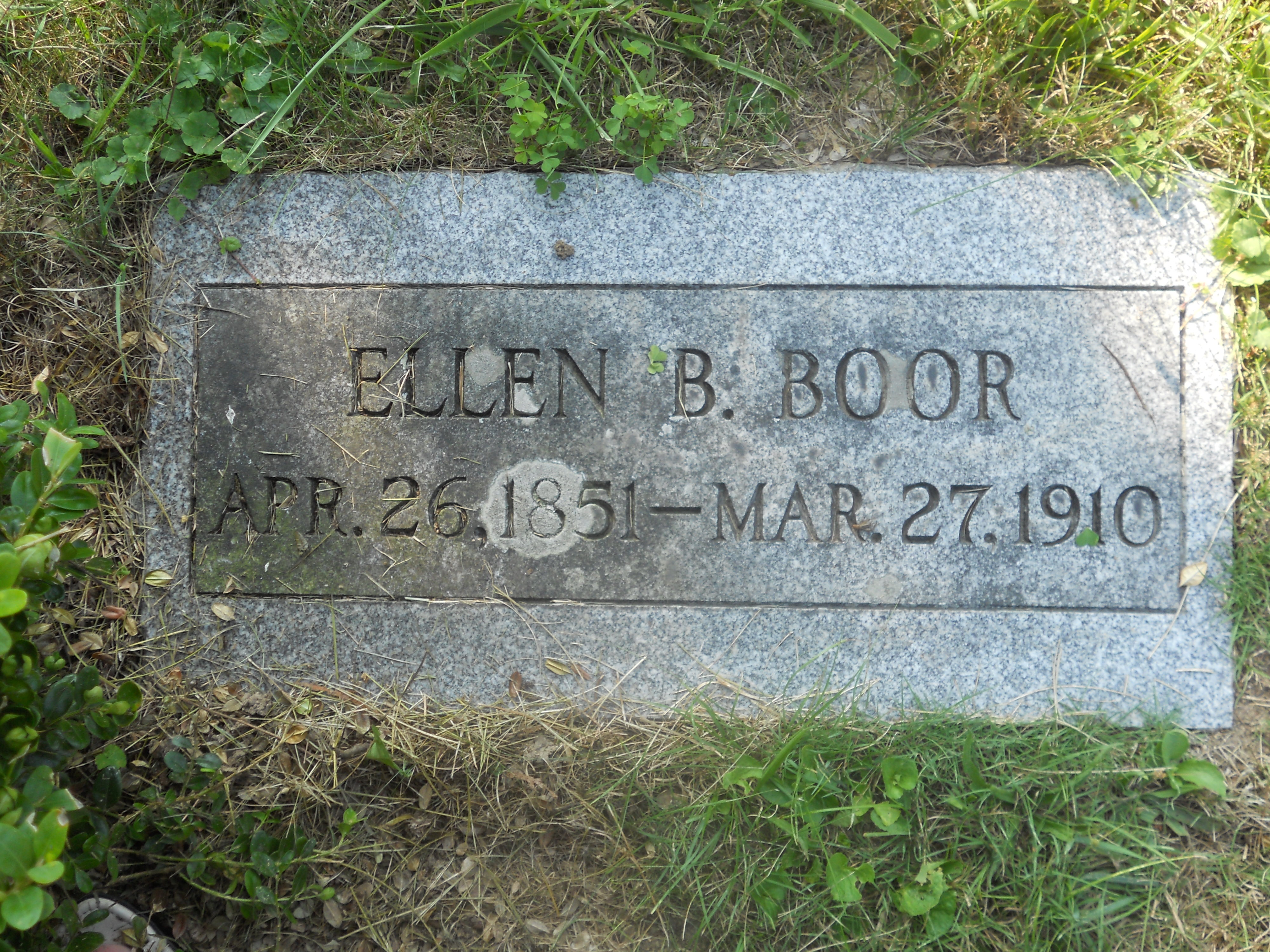 "Barbara ""Ellen"" Boor"