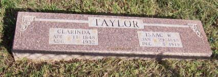 Isaac W Taylor