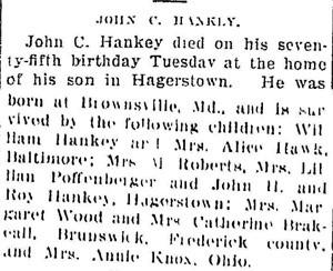 John C Hankey