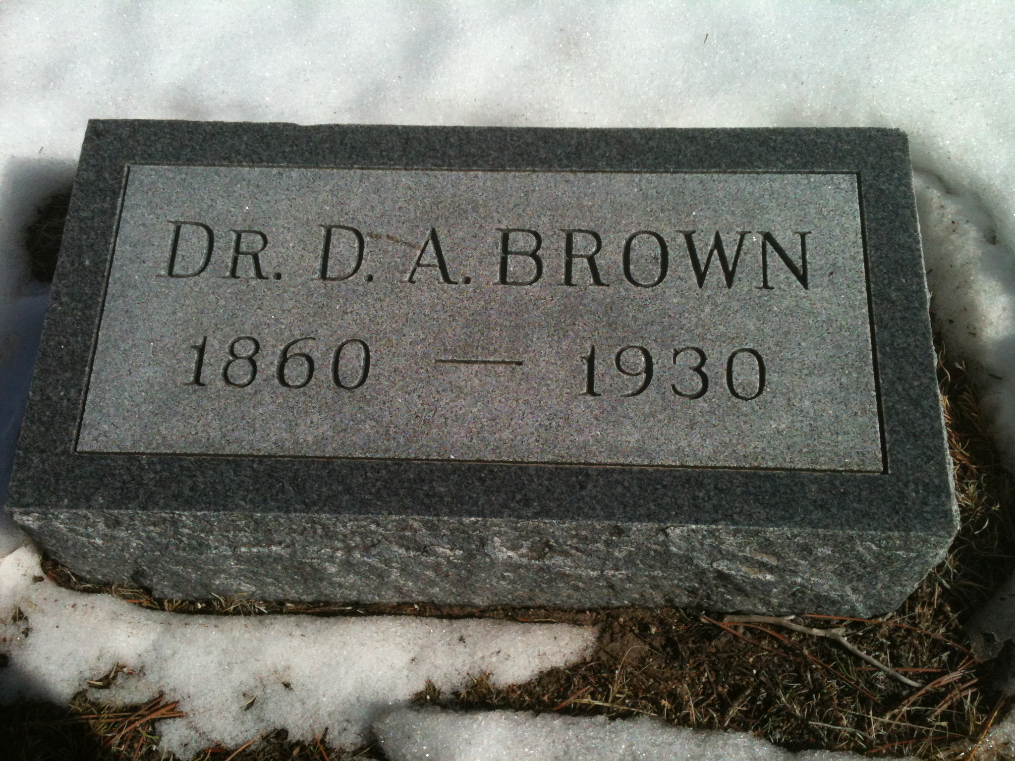 Delbert Alansing Brown