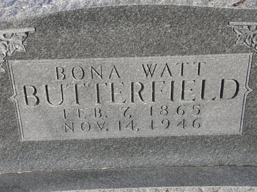 Bona Watt Butterfield