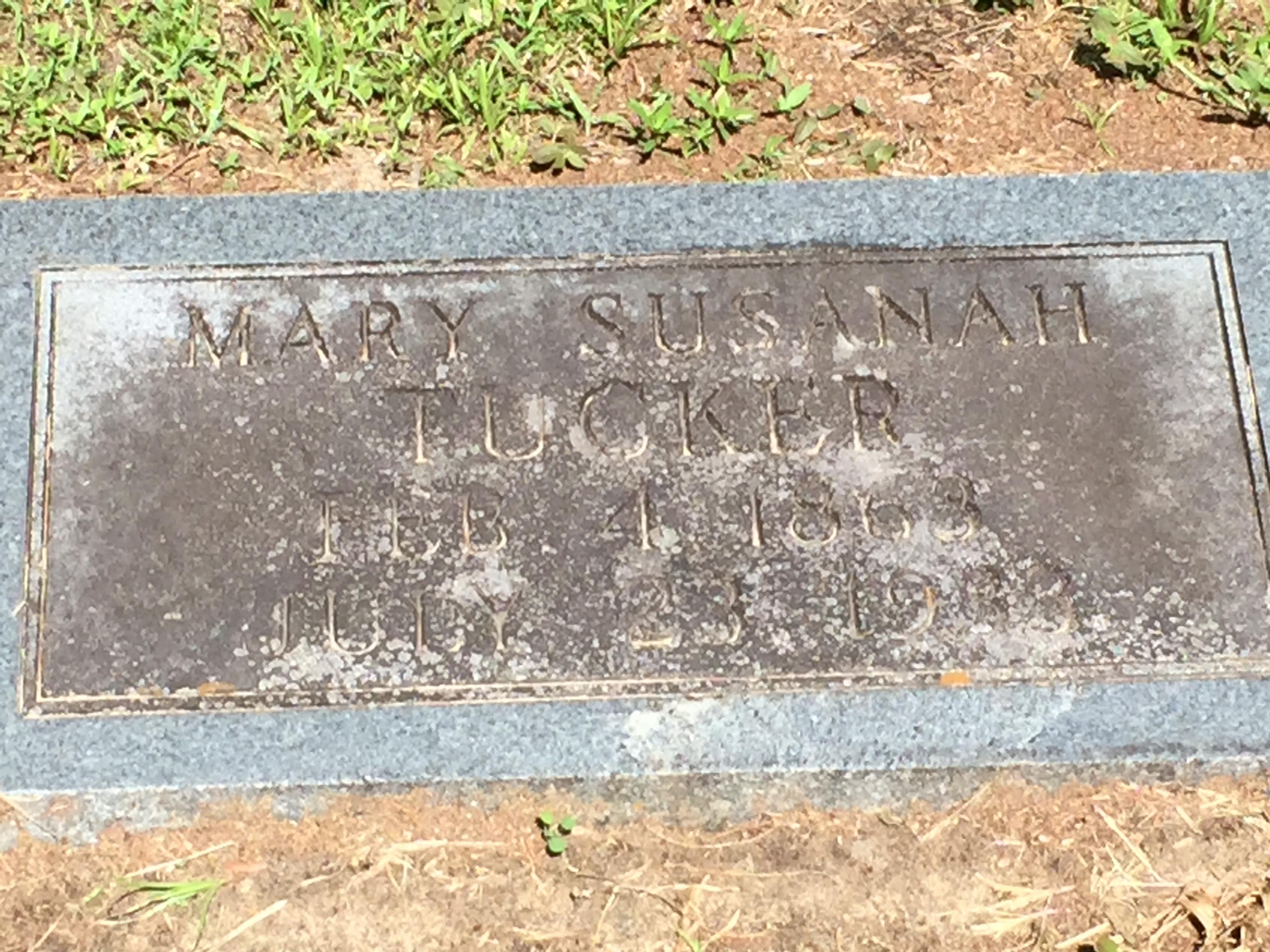 Mary Susanah Johnson