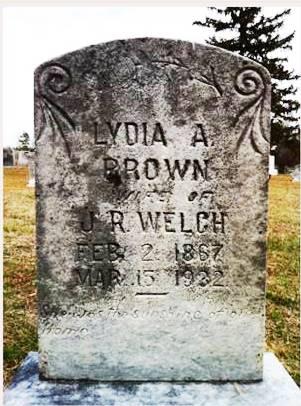 Lydia A Brown