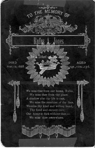 Rufus A Jones