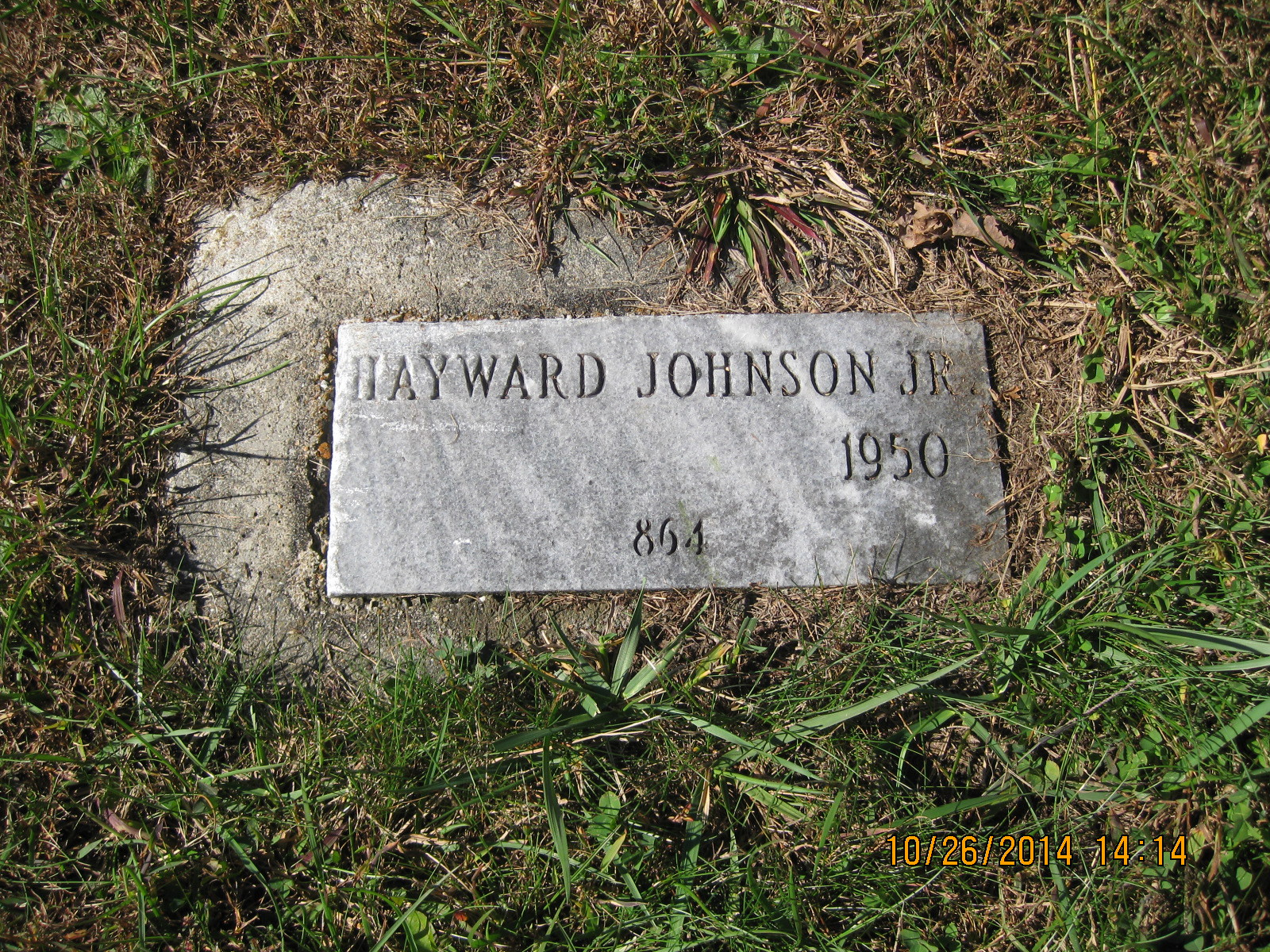 Hayward A Jr Johnson