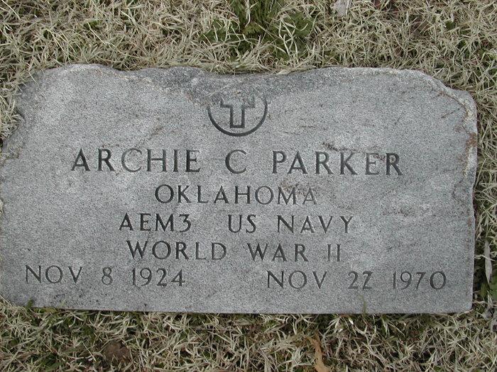 Archie Calvin Parker