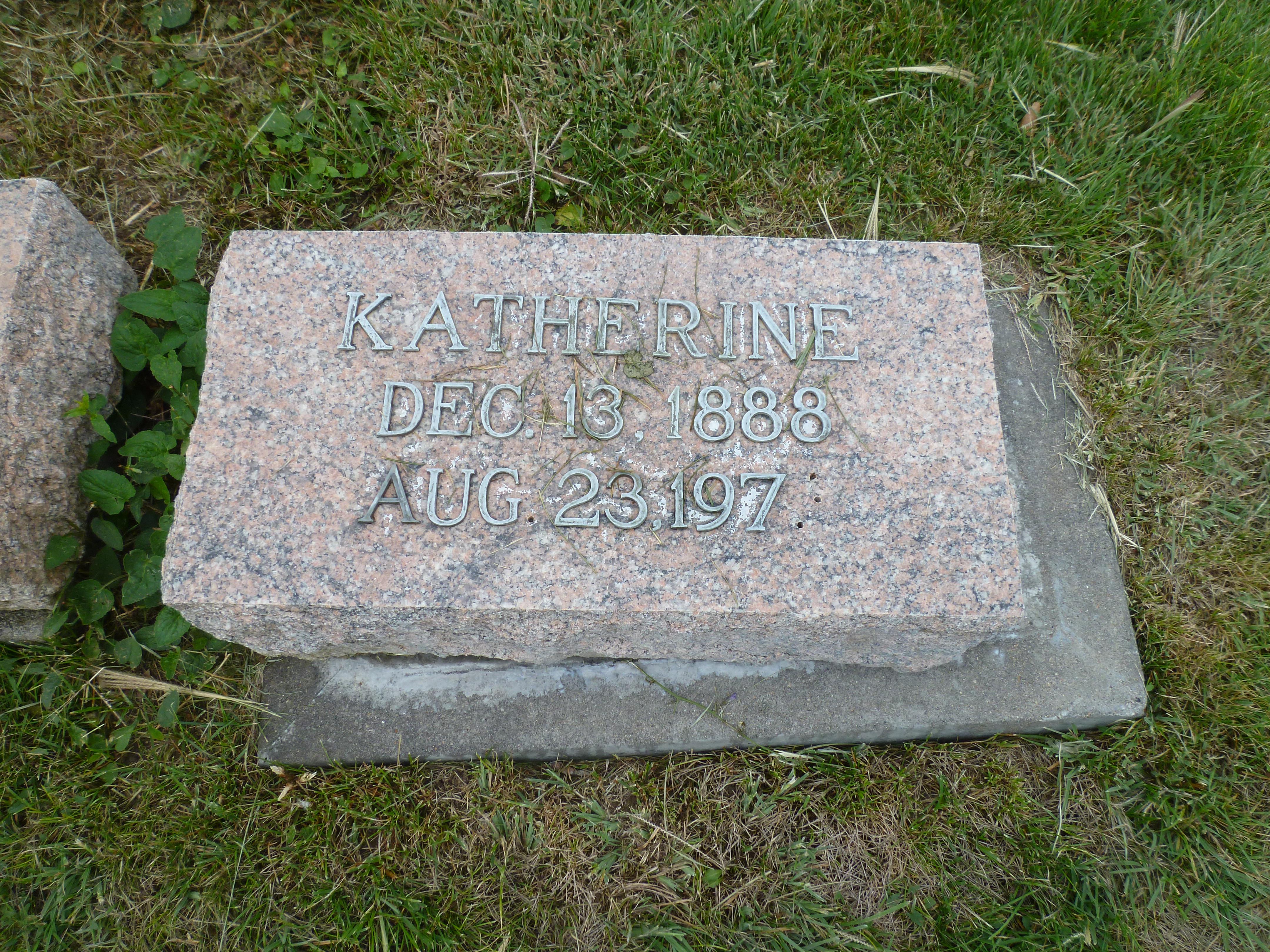 Katherine Mary Bernadette Kenehan