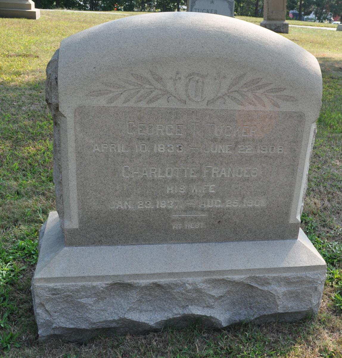 Caroline  'Carrie' F Tucker m. E L Southwick