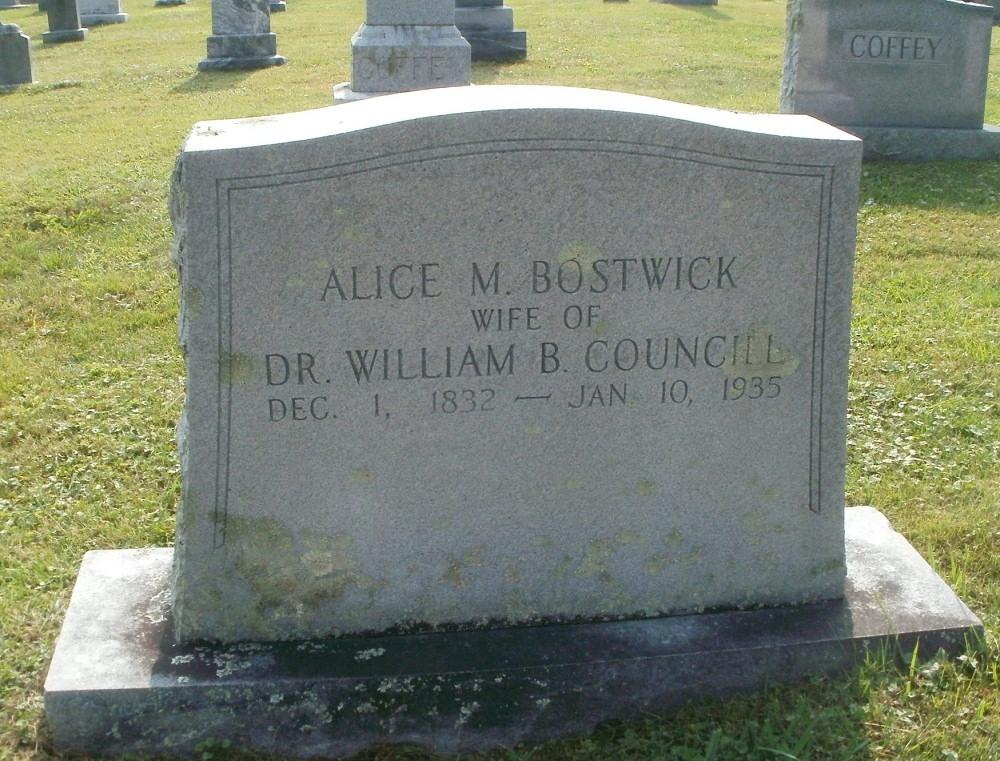 Alice Margaret Bostwick
