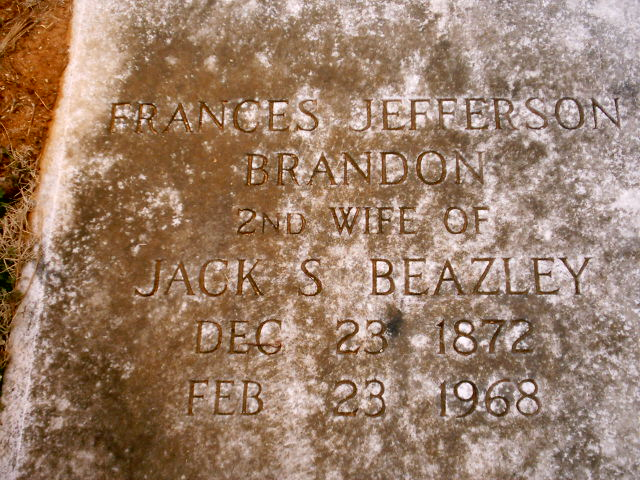 Frances Jefferson Brandon