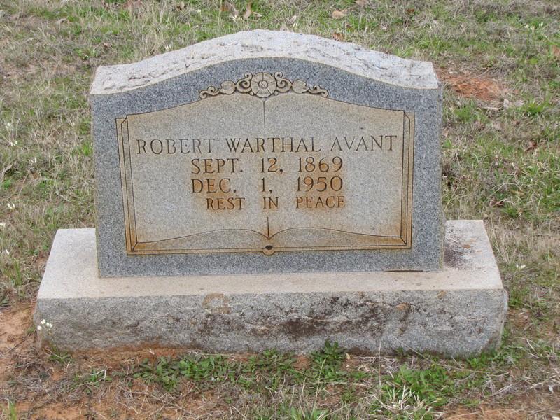 Robert Warthal Avant