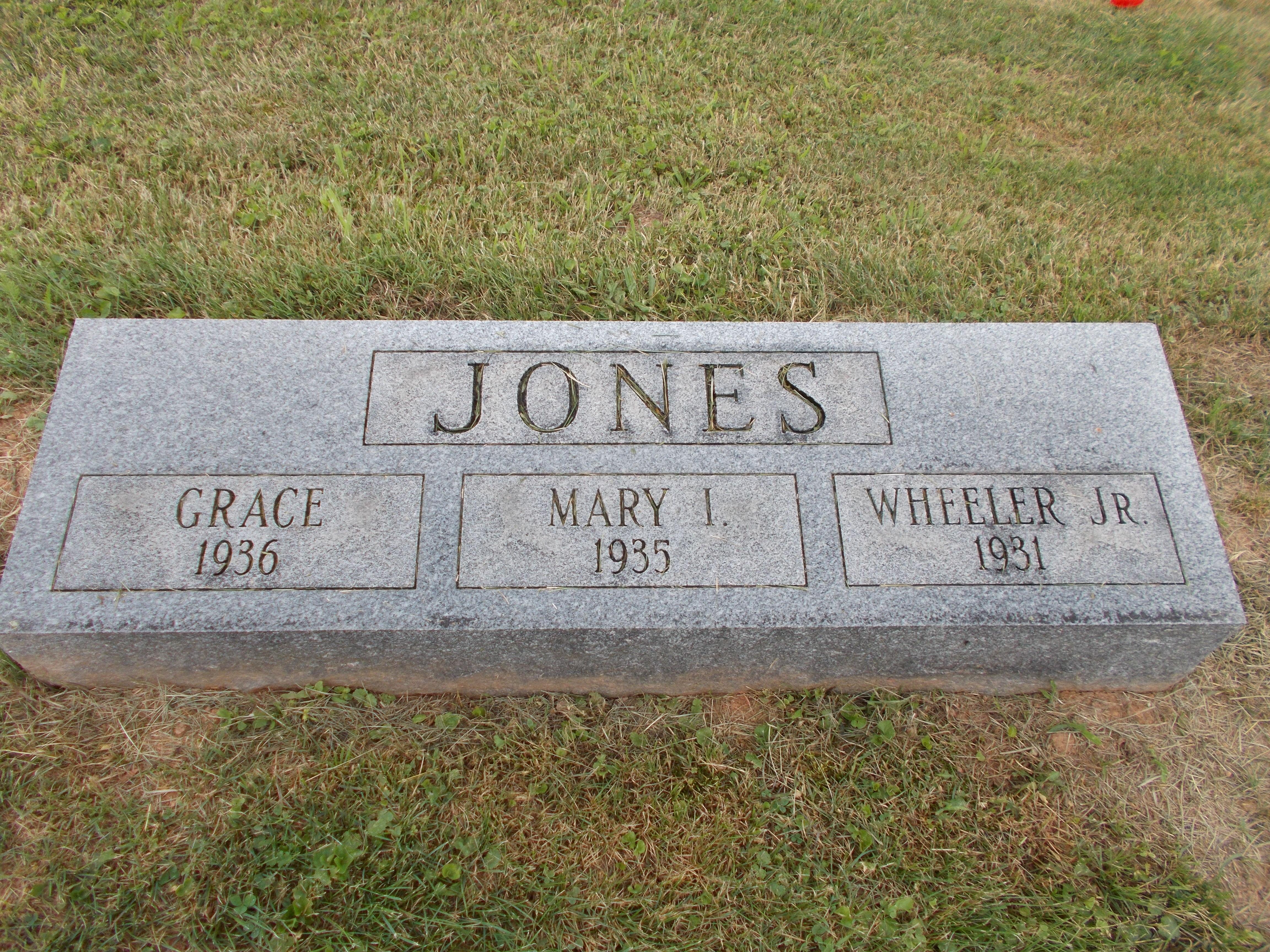 Mary India Jones