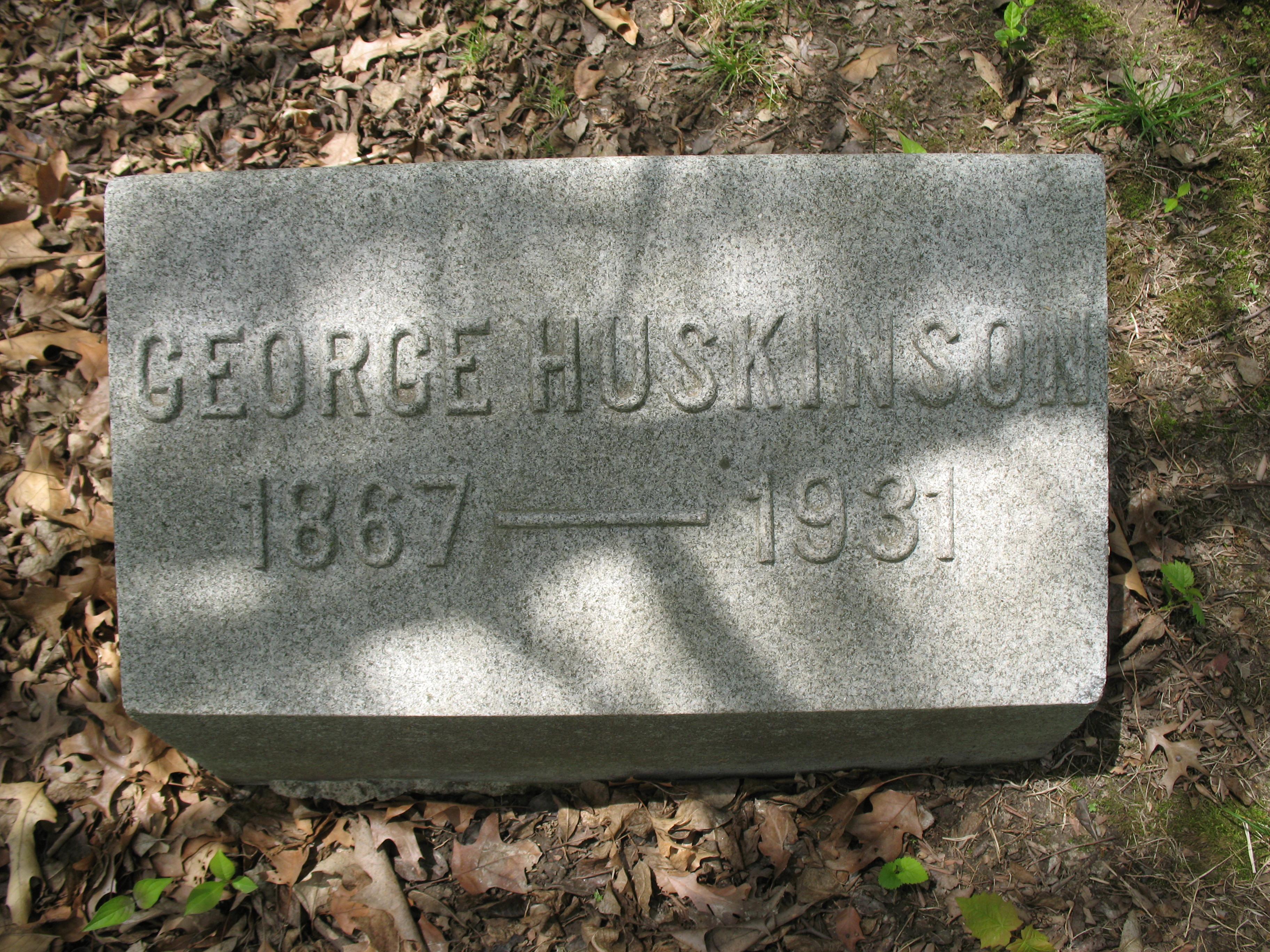George W. H. Huskinson