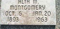 Alta M Montgomery