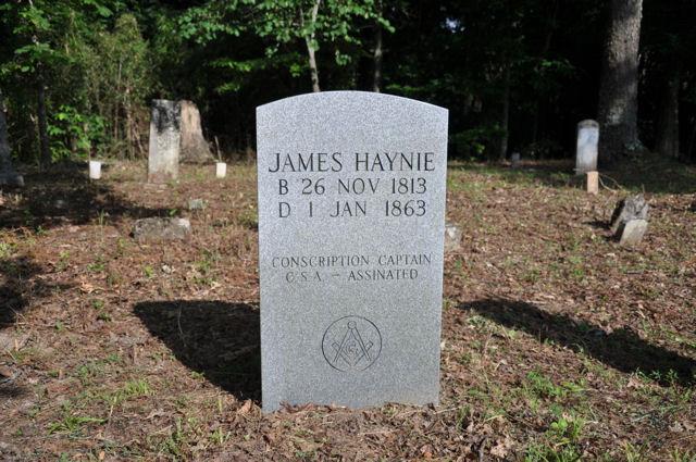 James E Haynie