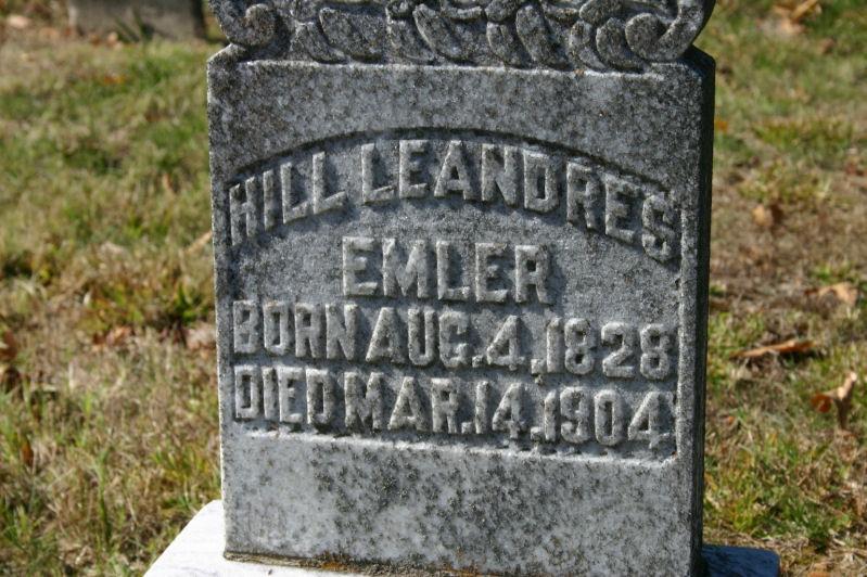 """Hillman """"Hill"""" Eleandes """"Leandres"""" Emler"""