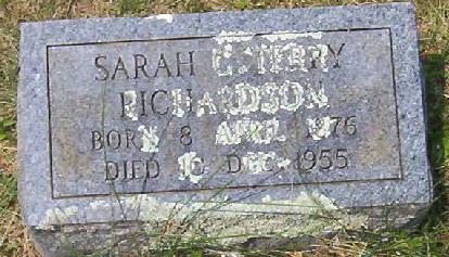 "Sarah Catherine ""Sallie"" Terry"