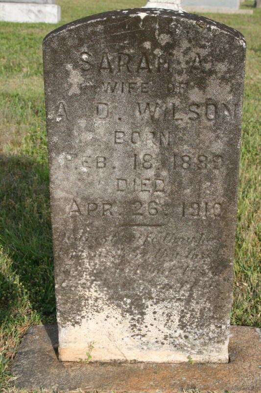Sarah A. Wallace