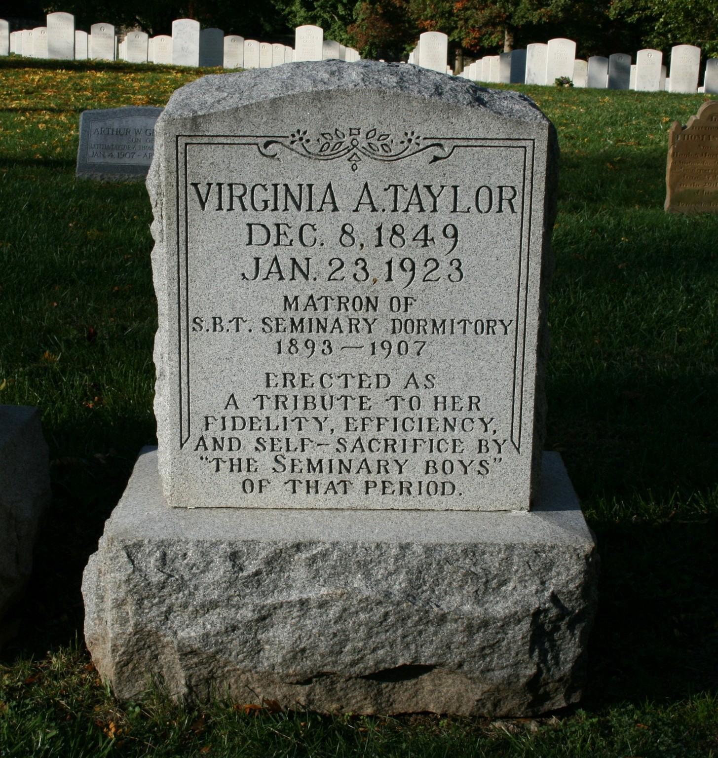 Virginia A Taylor