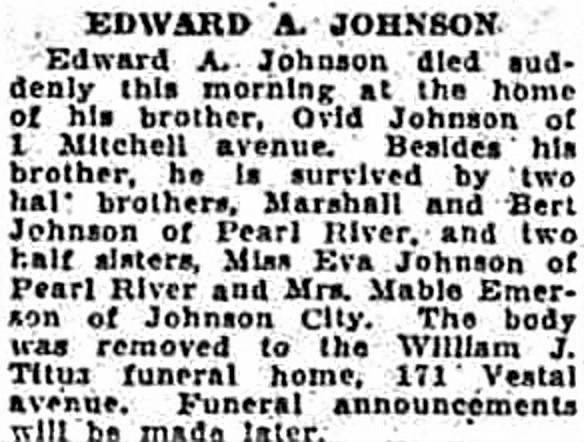 Edward Albertus Johnson